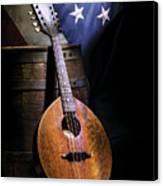 Mandolin America Canvas Print by Barry C Donovan