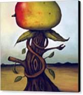 Mango Tree Aka Senor Mango Canvas Print by Leah Saulnier The Painting Maniac
