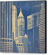 Manhattan 1 Canvas Print by Naxart Studio