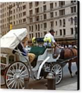 Manhattan Buggy Ride Canvas Print