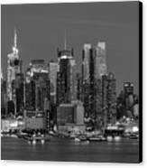 Manhattan Twilight Iv Canvas Print by Clarence Holmes
