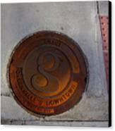 Manhole I Canvas Print