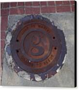Manhole II Canvas Print