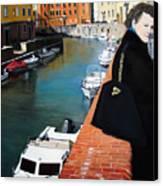 Manola In Livorno Canvas Print by Matthew Bates