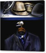 Many Hats One Collar Canvas Print