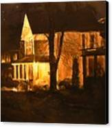 Maple Avenue Nocturne Canvas Print