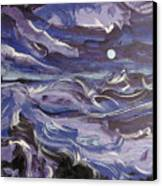 Mar Bravo Canvas Print