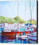 Maragot Harbor Canvas Print