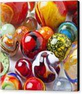 Marbles Close Up Canvas Print