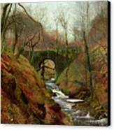 March Morning Canvas Print by John Atkinson Grimshaw