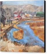 Marias Ranch Canvas Print