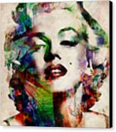Marilyn Canvas Print by Michael Tompsett
