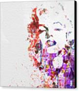 Marilyn Monroe Canvas Print by Naxart Studio