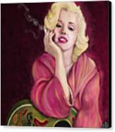 Marilyn Monroe Canvas Print by Sydne Archambault