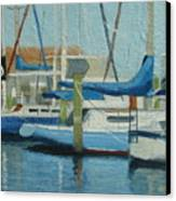 Marina No 4 Canvas Print