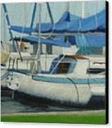 Marina No 5 Canvas Print