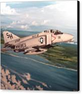 Marine Phantom Canvas Print