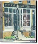 Marine Supply Store Canvas Print