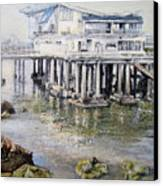 Maritim Club Castro Urdiales Canvas Print