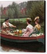 Market Day Canvas Print by Edmund Blair Leighton