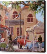 Market Day Canvas Print