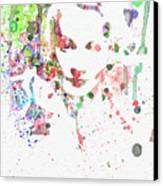 Marlene Dietrich 2 Canvas Print by Naxart Studio