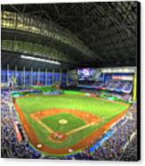 Marlins Park Canvas Print by Shawn Everhart