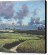 Marsh Dawn Canvas Print