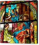 Martha And Mary Canvas Print