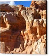 Martian Cliffs Canvas Print by Silvie Kendall