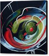 Martini - Stirred Iv  Canvas Print