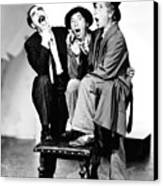 Marx Brothers, The Groucho, Chico Canvas Print