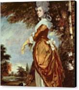 Mary Amelia First Marchioness Of Salisbury Canvas Print by Sir Joshua Reynolds