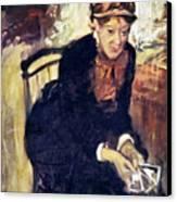 Mary Cassatt (1845-1926) Canvas Print by Granger