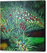 Maryann's Garden 3 Canvas Print