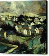 Masbourg Canvas Print