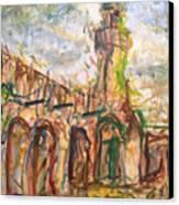 Masjed II Canvas Print by Khalid Alzayani
