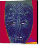 Mask 10 Canvas Print