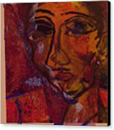 Mask 14 Canvas Print