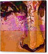Mask 24 Canvas Print