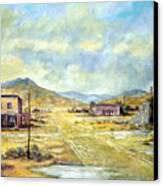 Mason Nevada Canvas Print by Evelyne Boynton Grierson