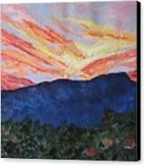 Massanutten Peak Sunrise Canvas Print