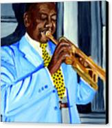 Master Of Jazz Canvas Print