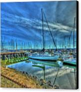 Masts Without Sails Canvas Print by Dale Stillman