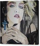 Material Girl Canvas Print by Lance Gebhardt