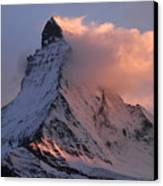 Matterhorn At Dusk Canvas Print by Jetson Nguyen