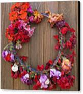 May Day Wreath Canvas Print