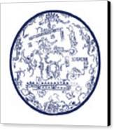 Mayan Cosmos Canvas Print