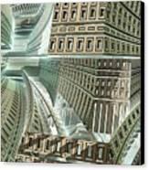 Maze Canvas Print by Bernard MICHEL