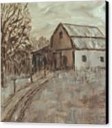 Mcginnis Barn Canvas Print